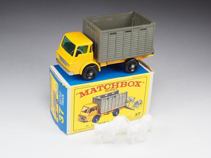 MATCHBOX - 37 - DODGE CATTLE TRUCK