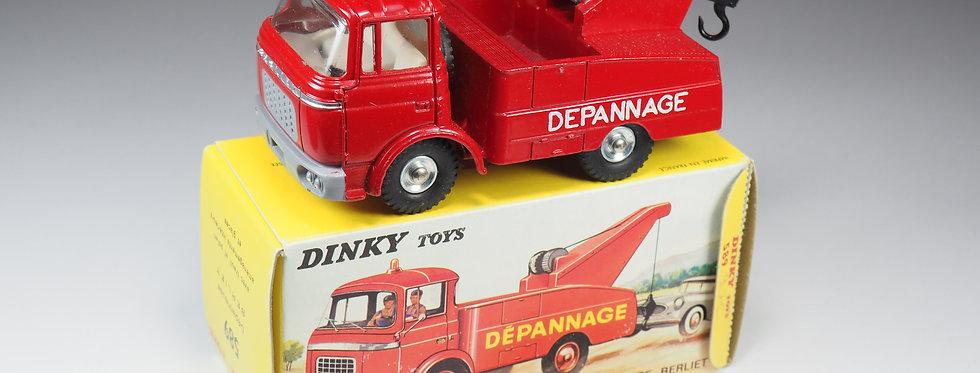 DINKY TOYS FRANCE - 589 - BERLIET GAK DÉPANNEUSE