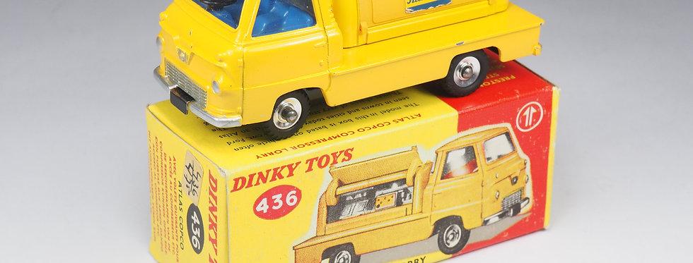 DINKY TOYS ENGLAND - 436 - ATLAS COPCO COMPRESSOR LORRY