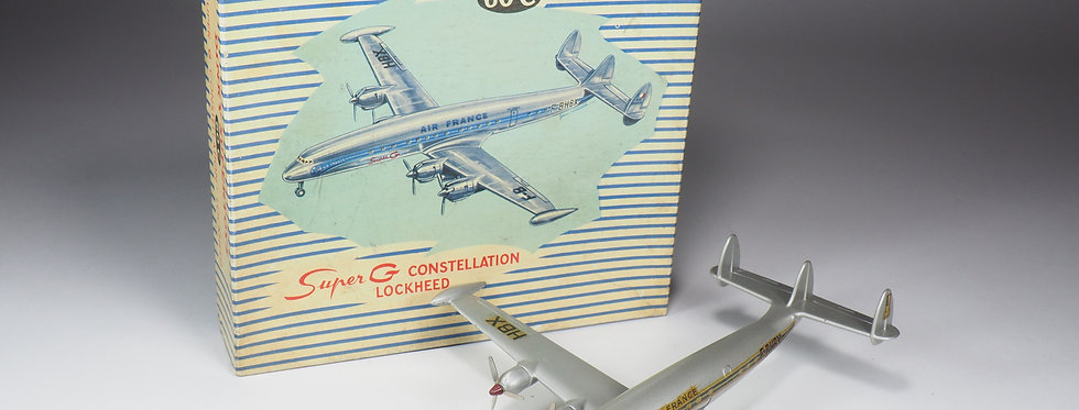DINKY TOYS FRANCE - SUPERTOYS - 60C - SUPER G CONSTELLATION LOCKHEED