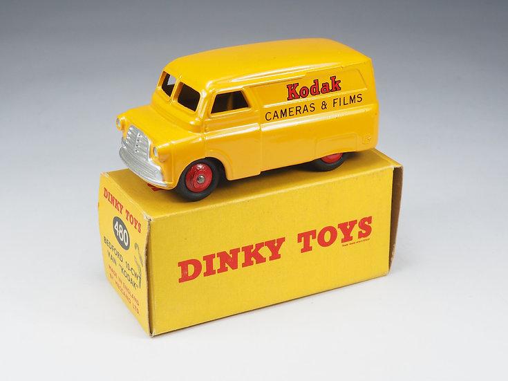 """DINKY TOYS ENGLAND - 480 - BEDFORD VAN """"KODAK - 1/43e"""