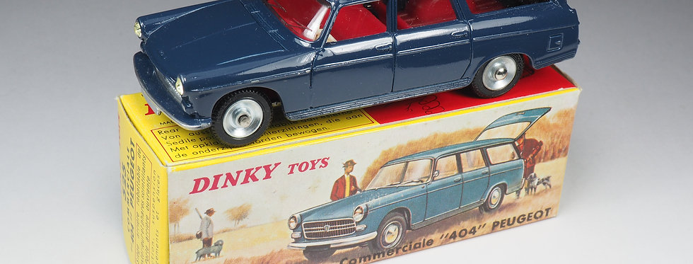DINKY TOYS FRANCE - 525 - PEUGEOT 404 COMMERCIALE