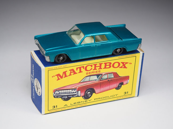 MATCHBOX - 31c - LINCOLN CONTINENTAL