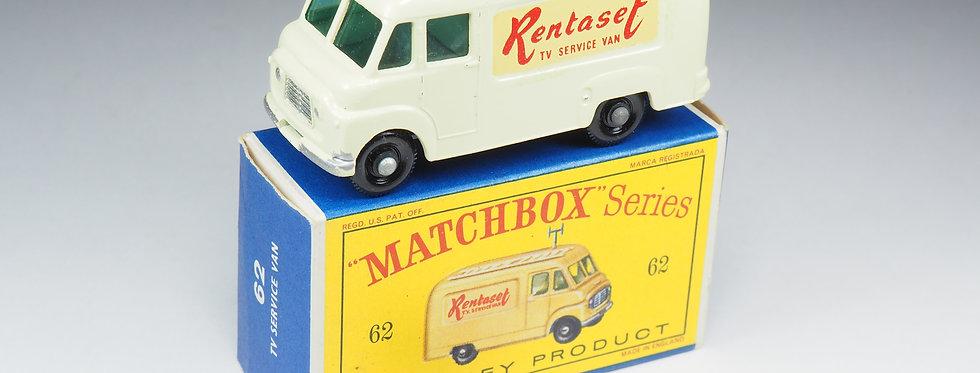 MATCHBOX - 62 - COMMER TV SERVICE VAN