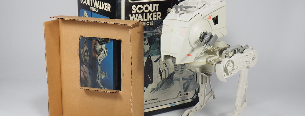 PALITOY VINTAGE - 1982 - SCOUT WALKER VEHICLE