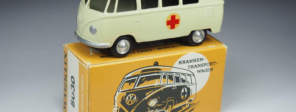 MÄRKLIN - 8030 - VOLKSWAGEN BUS AMBULANCE - 1/43e