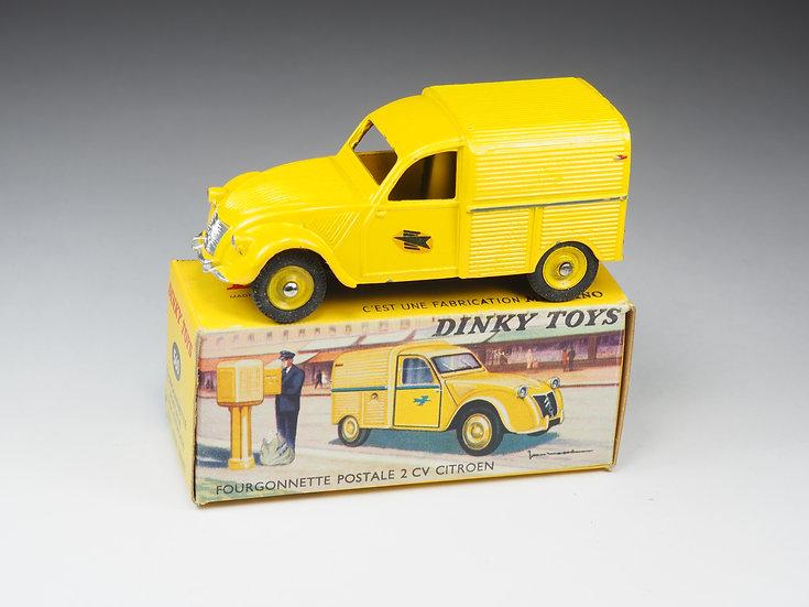 DINKY TOYS FRANCE - 560 - FOURGONNETTE POSTALE 2CV CITROËN