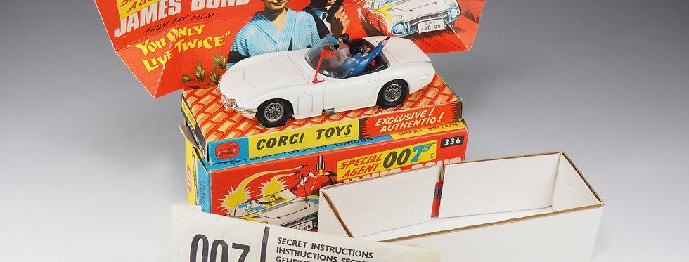 CORGI - 336 - JAMES BOND TOYOTA 2000 GT - 1/43e