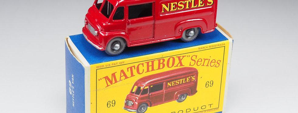 MATCHBOX - 69 - COMMER NESTLE'S VAN