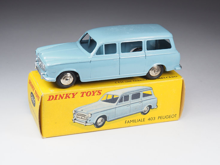 DINKY TOYS FRANCE - 24F - PEUGEOT 403 FAMILIALE