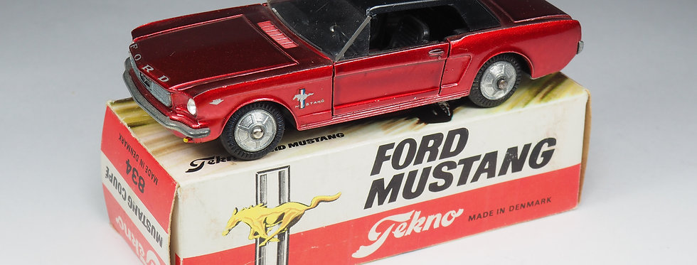 TEKNO - 834 - FORD MUSTANGCOUPE - 1/43e