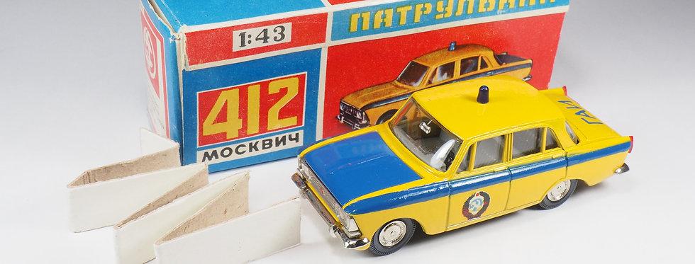 NOVOEXPORT - A8 - MOSKVITCH 412 «GAI»  POLICE CAR
