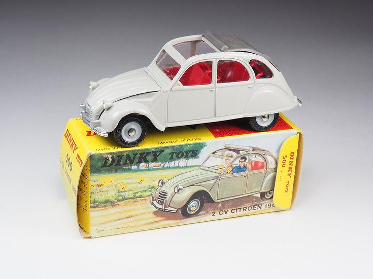 DINKY TOYS FRANCE - 500 - CITROËN 2CV 1966