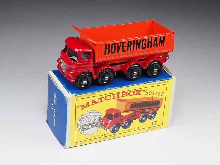 MATCHBOX - 17 - FODEN 8-WHEEL TIPPER «HOVERINHAM»