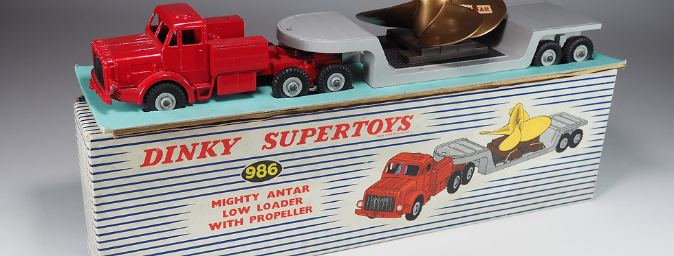 DINKY TOYS ENGLAND - 986 - MIGHTY ANTAR LOW LOADER - 1/43