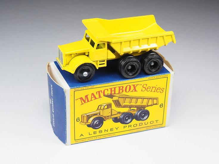 MATCHBOX - 6 - EUCLID QUARRY TRUCK