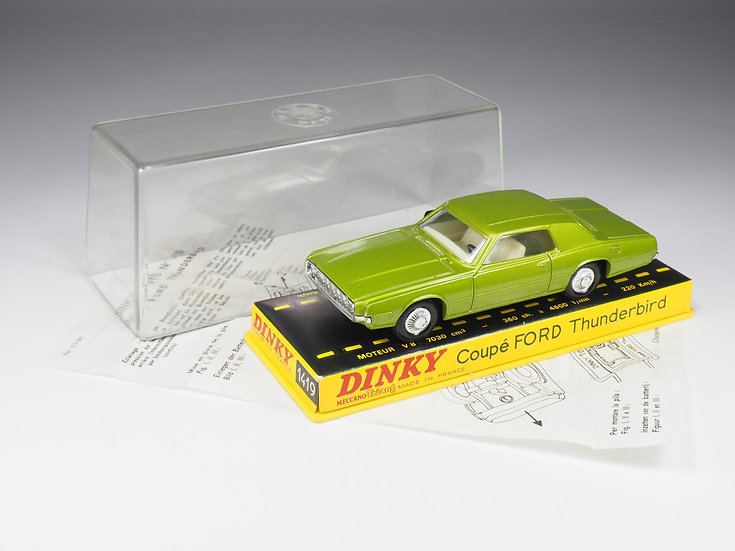DINKY TOYS FRANCE - 1419 - COUPE FORD THUNDERBIRD - 1/43e