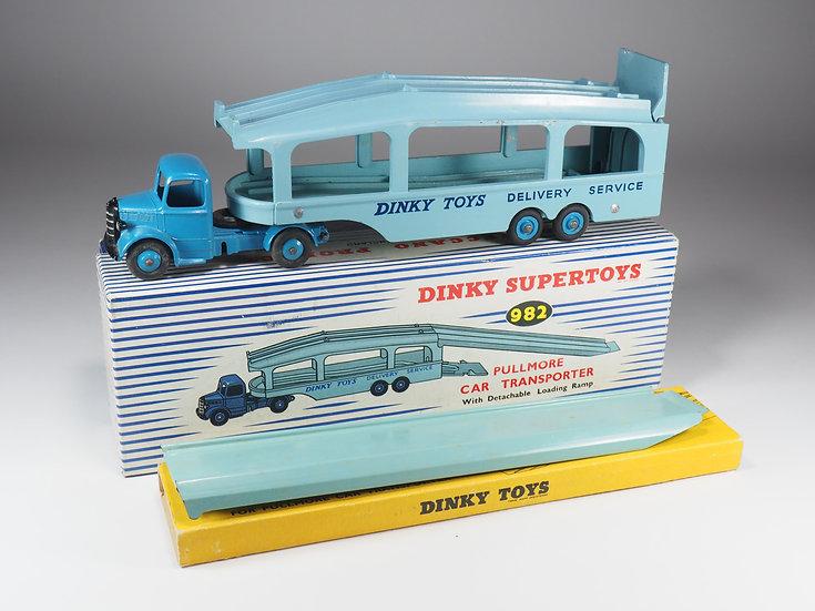DINKY TOYS ENGLAND  - 982 - BEDFORD PULLMORE CAR TRANSPORTER