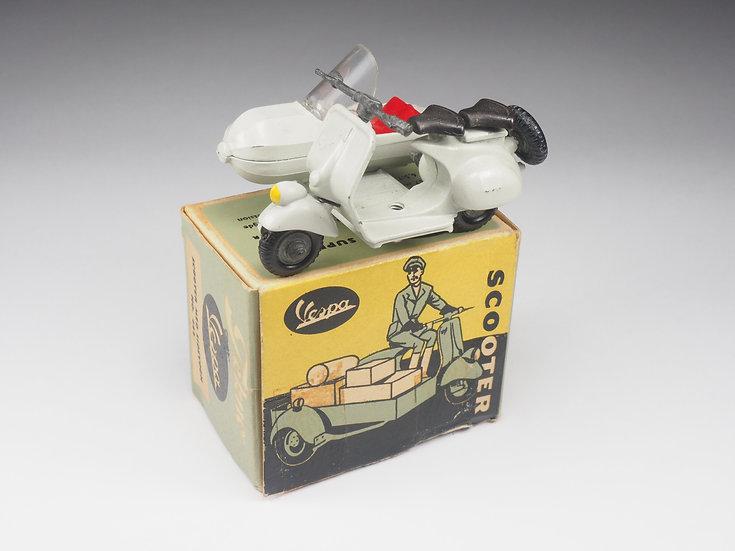 TEKNO - 443 - VESPA & SIDE CAR - 1/43e
