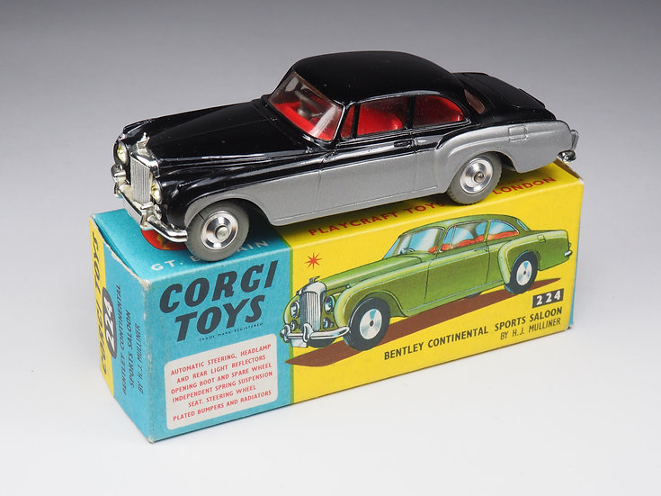 CORGI - 224 - BENTLEY CONTINENTAL SPORT SALOON - 1/43e