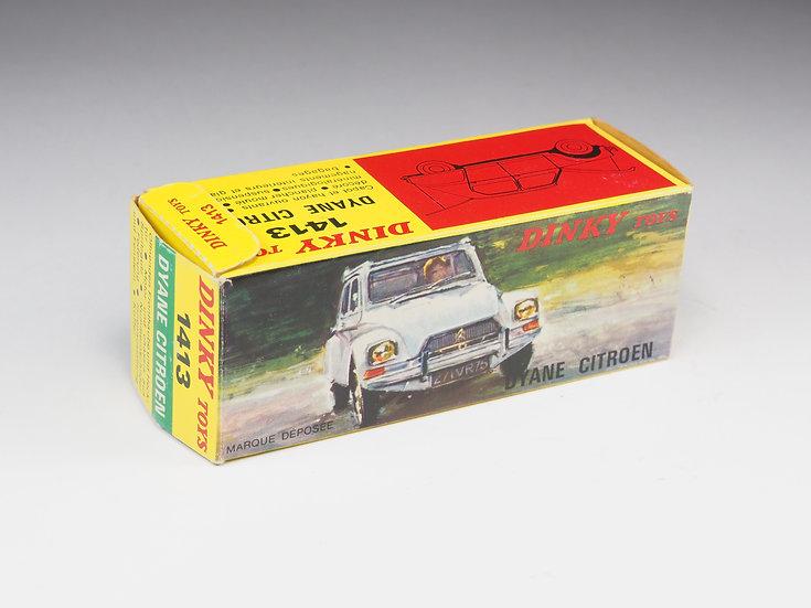 DINKY TOYS - BOX ONLY - 1413 - CITROEN DYANE