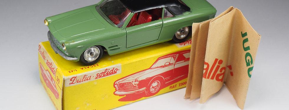 SOLIDO-DALIA - 30 / 133 - FIAT 2300 S CABRIOLET GHIA - 1/43e