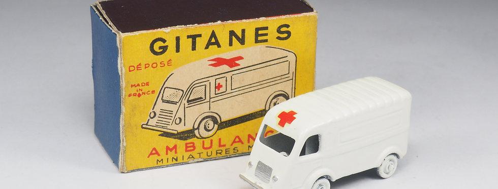 GITANES - RENAULT GOELETTE 1000KG AMBULANCE - 1/86e