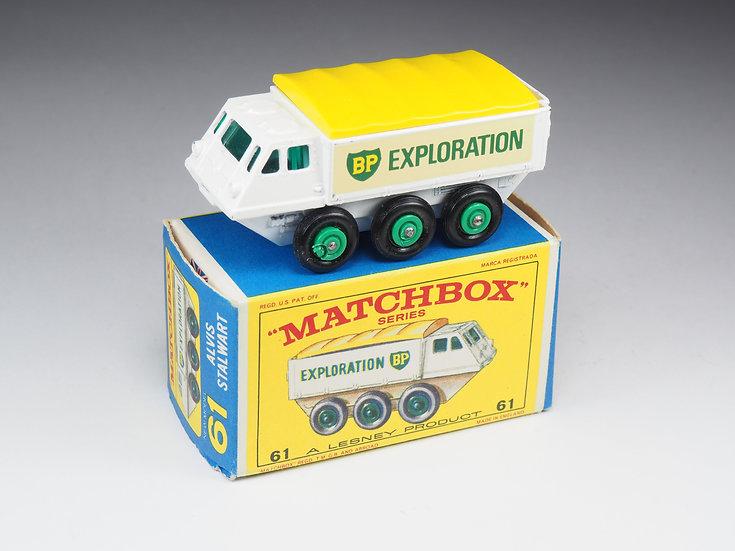 MATCHBOX - 61 - ALVIS STALWART BP EXPLORATION