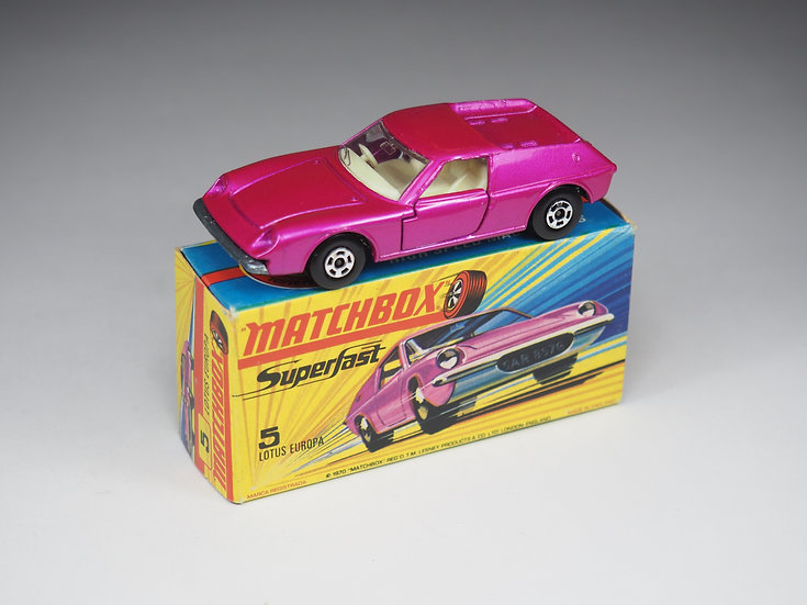 MATCHBOX SUPERFAST - 5 - LOTUS EUROPA
