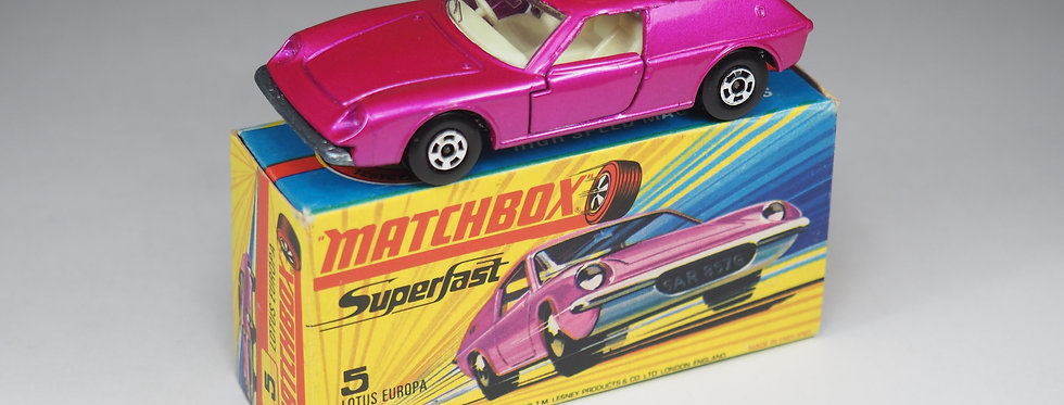 MATCHBOX SUPERFAST - 5 - LOTUS EUROPA