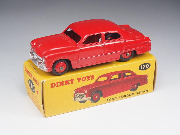 DINKY TOYS ENGLAND - 170 - FORD FORDOR SEDAN - 1/43e