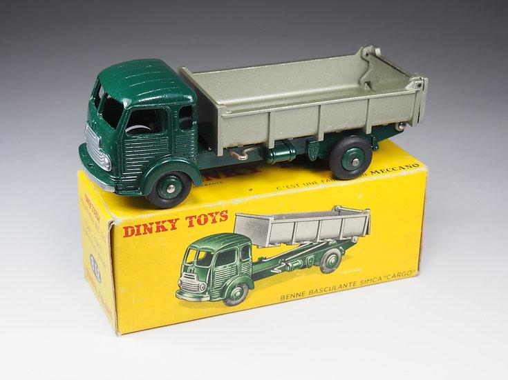 DINKY TOYS FRANCE - 33B - SIMCA CARGO BENNE BASCULANTE