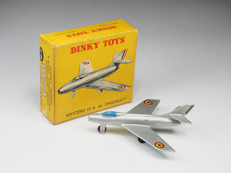 DINKY TOYS FRANCE - 60A - MYSTERE IV A M.DASSAULT