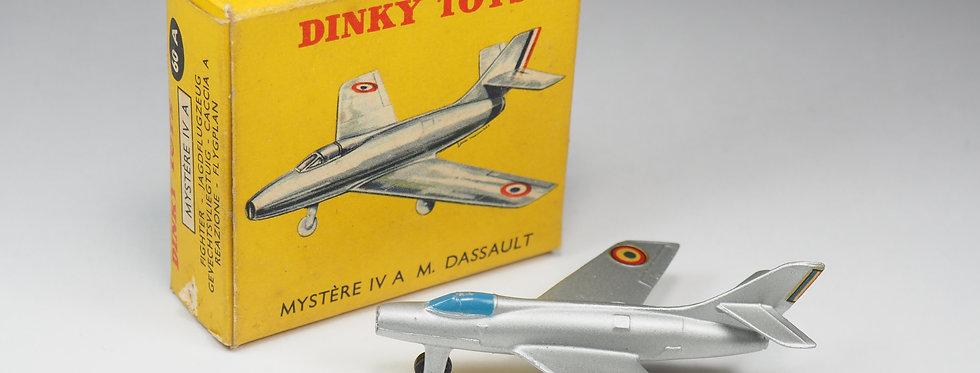 DINKY TOYS FRANCE - 60A - MYSTERE IV A M.DASSAULT