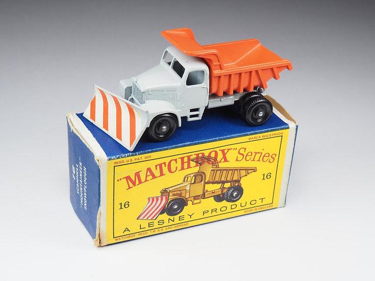 MATCHBOX - 16 - SCAMMEL «MOUNTAINEER» SNOWPLOUGH
