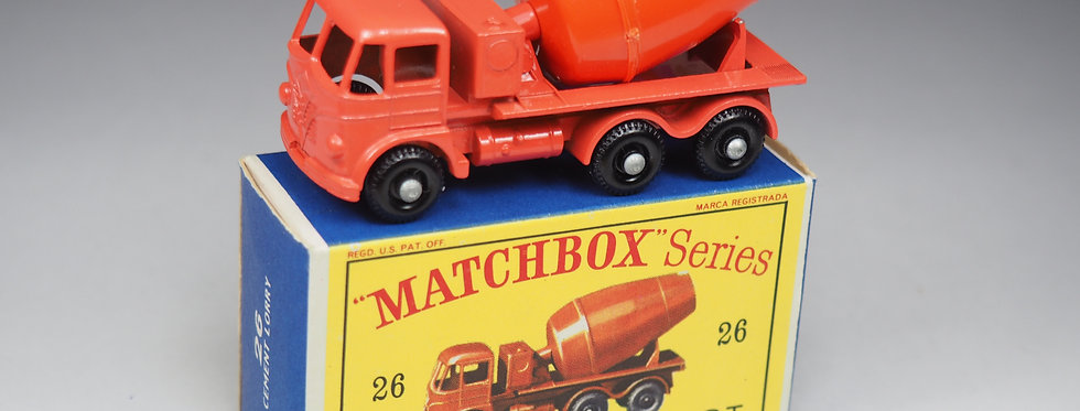 MATCHBOX - 26b - CEMENT LORRY