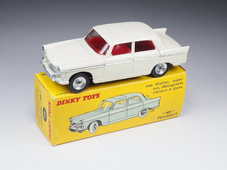 DINKY TOYS - 553 - PEUGEOT 404 - DERNIERE VERSION