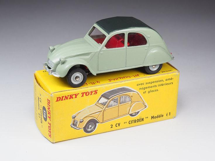 DINKY TOYS FRANCE - 558 - CITROËN 2CV 1961