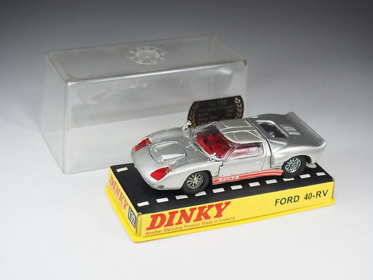 DINKY TOYS ENGLAND - 132 - FORD GT 40 RV