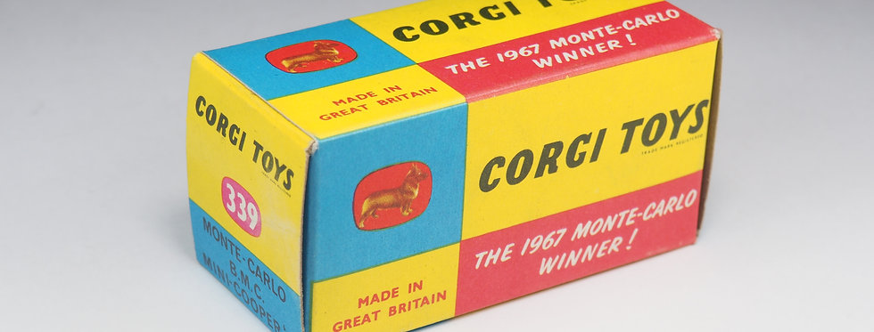 CORGI - 339 - MONTE CARLO BMC MINI COOPER 'S' - SANS ILLUSTRATIONS