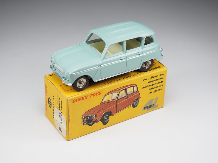 DINKY TOYS FRANCE - 518 - RENAULT 4L - 1/43e