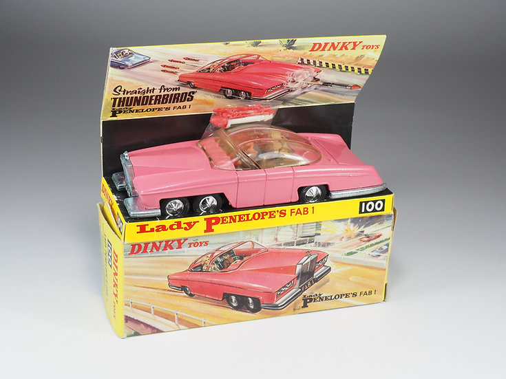 DINKY TOYS ENGLAND - 100 - LADY PENELOPE'S FAB 1