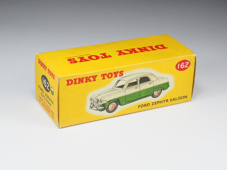 DINKY TOYS ENGLAND - 162 - FORD ZEPHYR SALOON - BOX ONLY