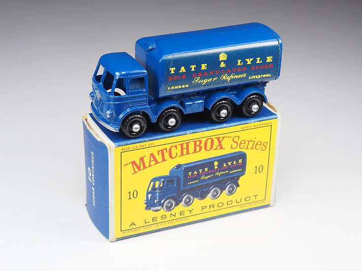 MATCHBOX - 10 - FODEN SUGAR CONTAINER « TATE & LYLE »