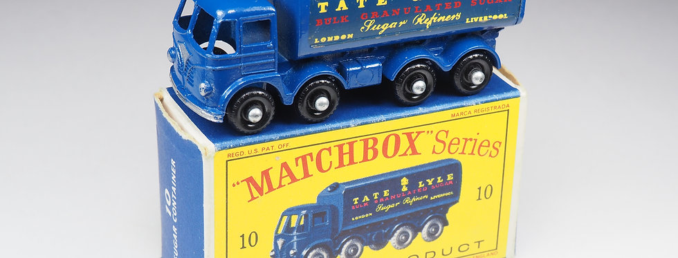 MATCHBOX - 10 - FODEN SUGAR CONTAINER «TATE & LYLE»