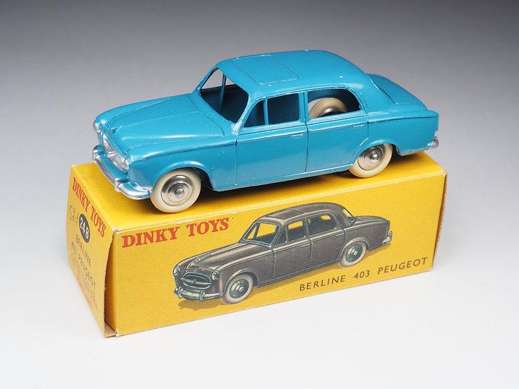 DINKY TOYS FRANCE - 24B - PEUGEOT 403