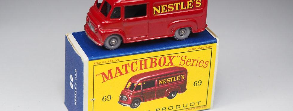 "MATCHBOX - 69a - COMMER ""NESTLE'S"" VAN"