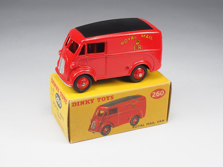 DINKY TOYS ENGLAND - 260 - ROYAL MAIL VAN - 1/43e