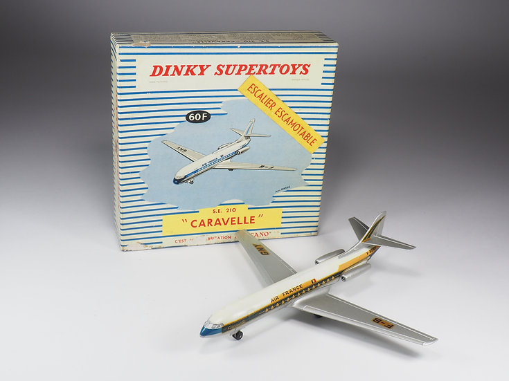 DINKY TOYS FRANCE - SUPERTOYS - 60F - SE 210 « CARAVELLE »