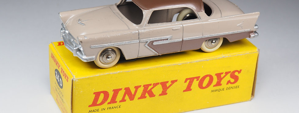 DINKY TOYS FRANCE - 24D - PLYMOUTH BELVEDERE - 1/43e